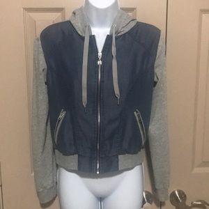 Victoria's Secret Hooded Zip-up Sweater